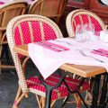 chaise-restaurant-rose