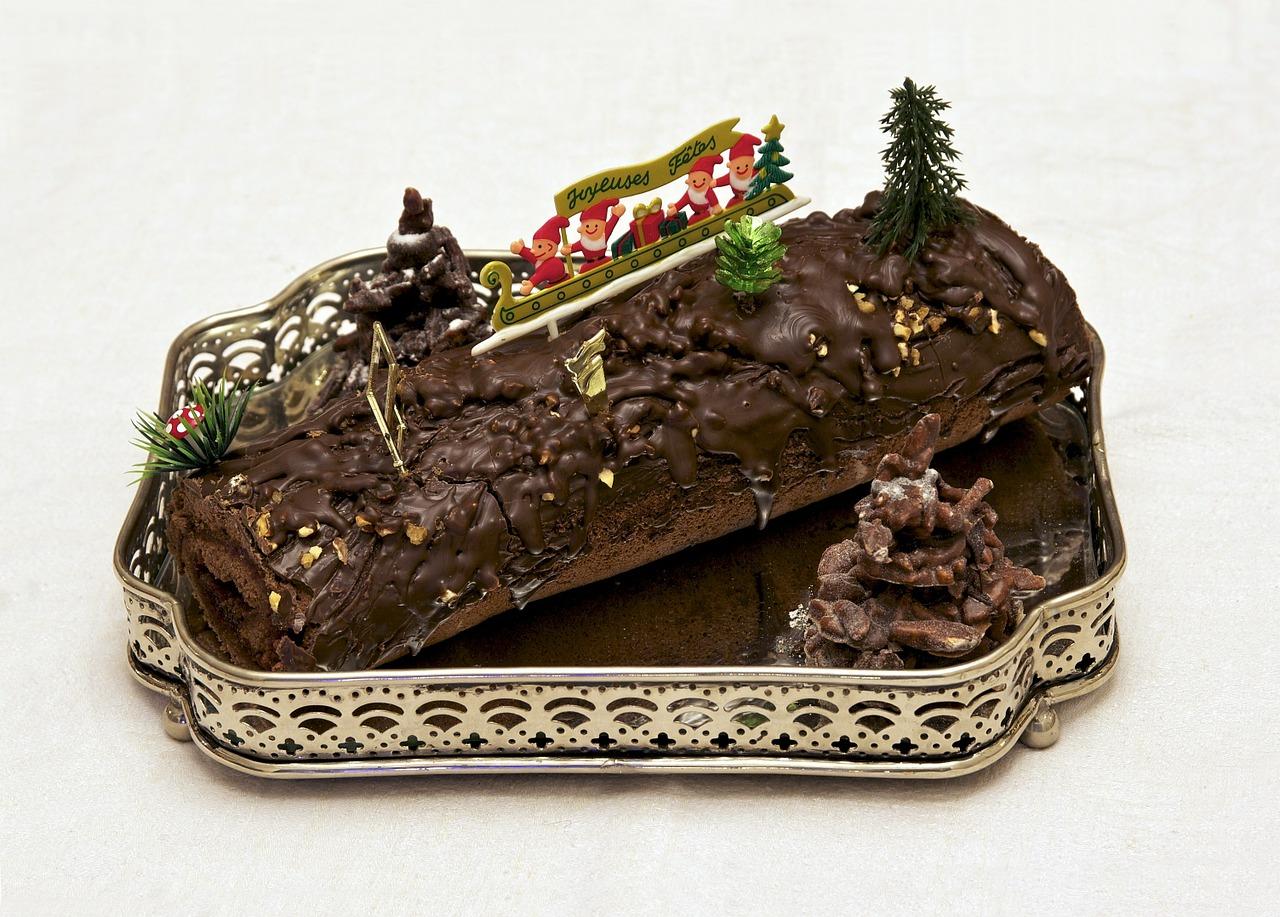 La bûche de noël, une pâtisserie qui surpasse toutes les générations.
